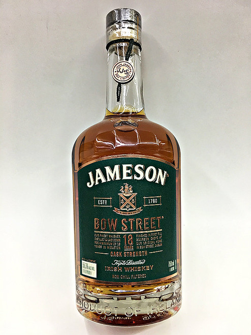 Jameson Bow Street 18 Year Irish Whiskey