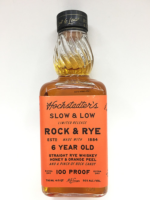 Hochstadter's Slow And Low 6 Year Old Rock And Rye