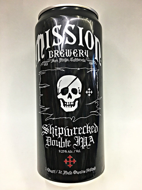 Mission Shipwrecked Doube IPA 32oz Can