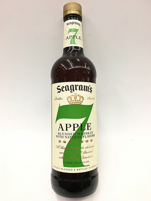 Seagram's 7 Apple Blended Whiskey