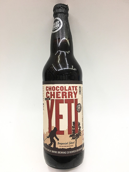 Great Divide Chocolate Cherry Yeti Imperial Stout