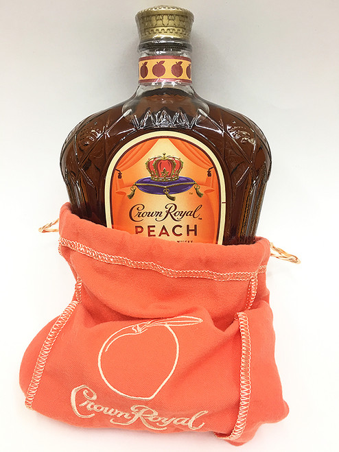 Crown Royal Peach Bourbon Whisky in Bag