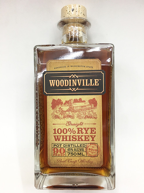 Woodinville 100% Straight Rye Whiskey