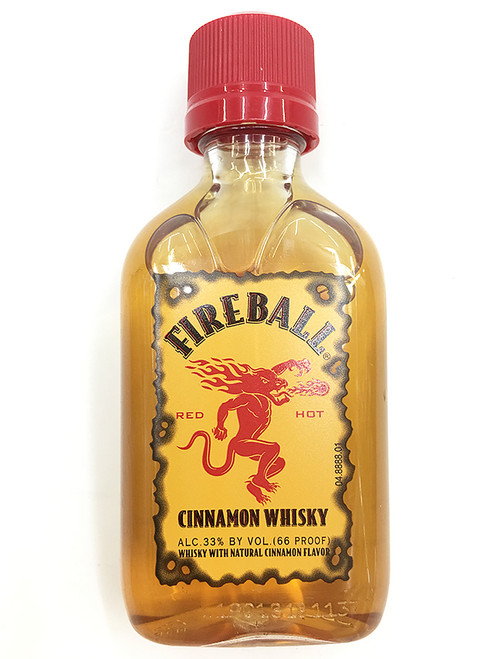 FireBall Cinnamon Whisky 50ml Mini