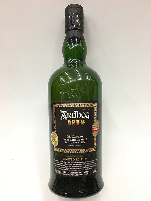 """Ardbeg Drum """"The Ultimate"""" Scotch Whisky"""