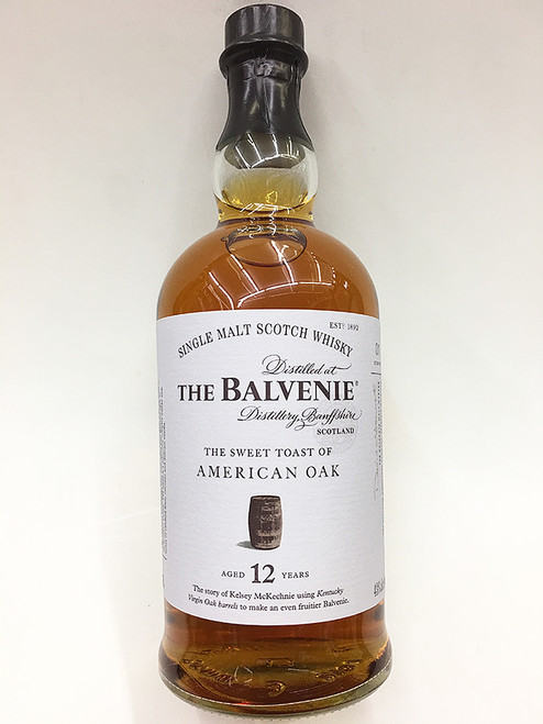 Balvenie The Sweet Toast Of American Oak Aged 12 Years