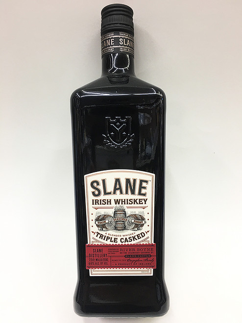 "Slane Irish Whiskey ""Triple Casked"""