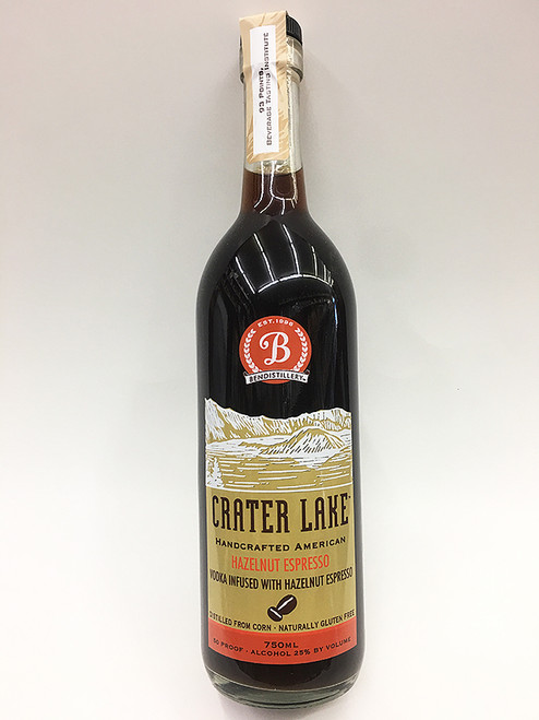 Crater Lake Hazelnut Espresso Vodka