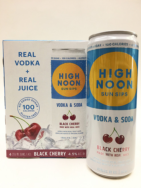 High Noon Black Cherry 4 Pack