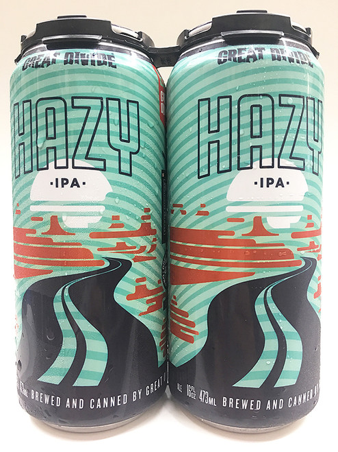 Great Divide Hazy IPA 4 Pack Can's