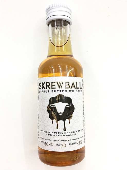 Skrewball Peanut Butter Flavored Whiskey 50ml