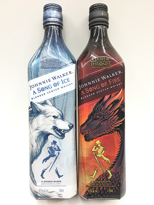 Johnnie Walker A Song Of Fire And Ice