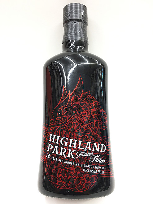 Highland Park TWISTED TATTOO 16 Year Old Scotch Whisky