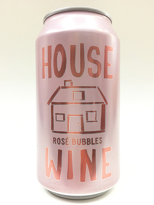House Wine Rose Bubbles Can