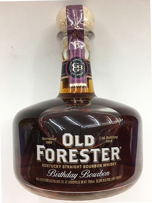 Old Forester Birthday Bourbon Kentucky Straight Bourbon Whisky