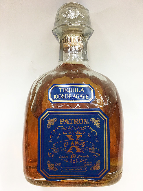 Patron Extra Añejo 10 Años Limited Edition Aged Tequila X