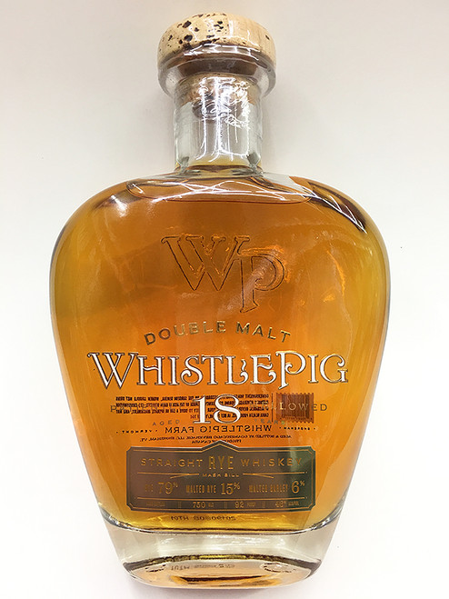 WhistlePig 18 Year Double Malt Straight RYE Whiskey