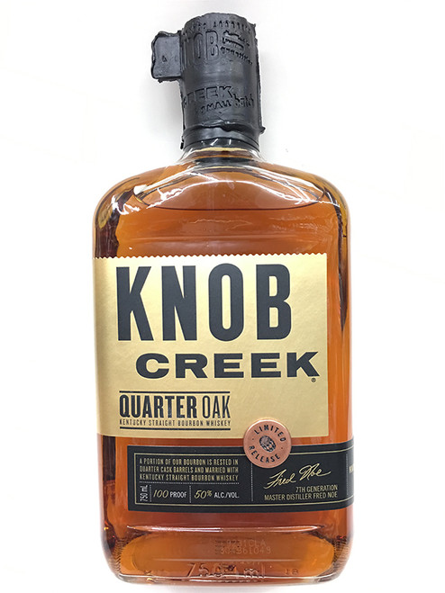 KNOB Creek Quarter Oak Straight Bourbon Whiskey