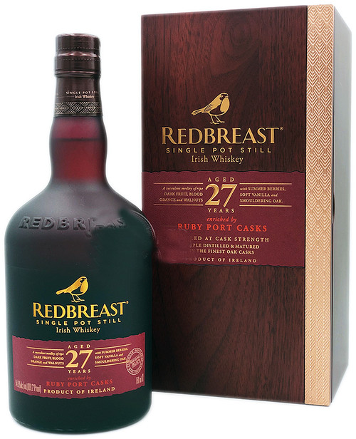 Redbreast 27 Year Old Ruby Port Cask Finish