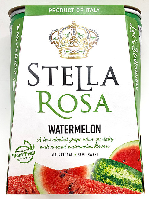 Stella Rosa Watermelon 250ml Can 2-Pack