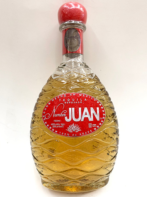 Number Juan Reposado Tequila 750ml