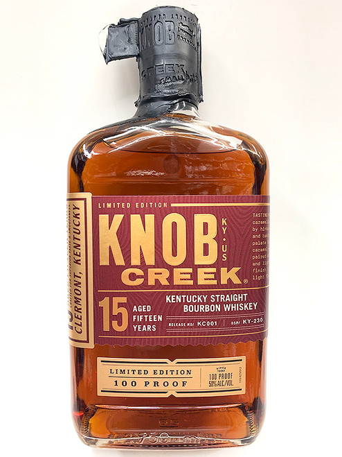 Knob Creek 15 Year Limited 100 Proof