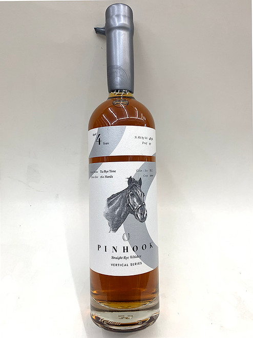 Pinhook Straight Rye 4 Year Bourbon Whiskey