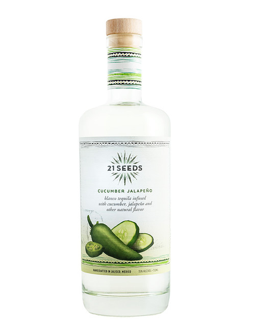21 Seeds Cucumber Jalapeno Blanco Infused Tequila