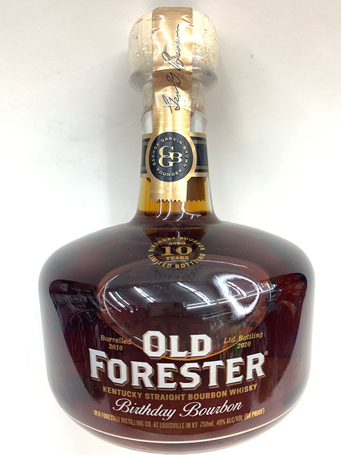 Old Forester Aged 10 Years Birthday Bourbon