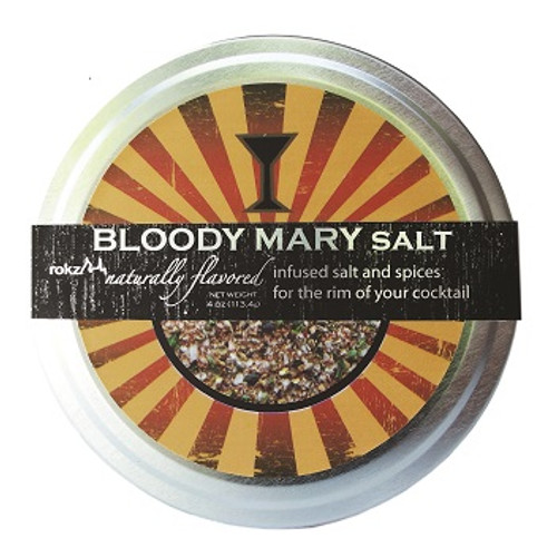 Bloody Mary Natural Rimming Salt 4 oz