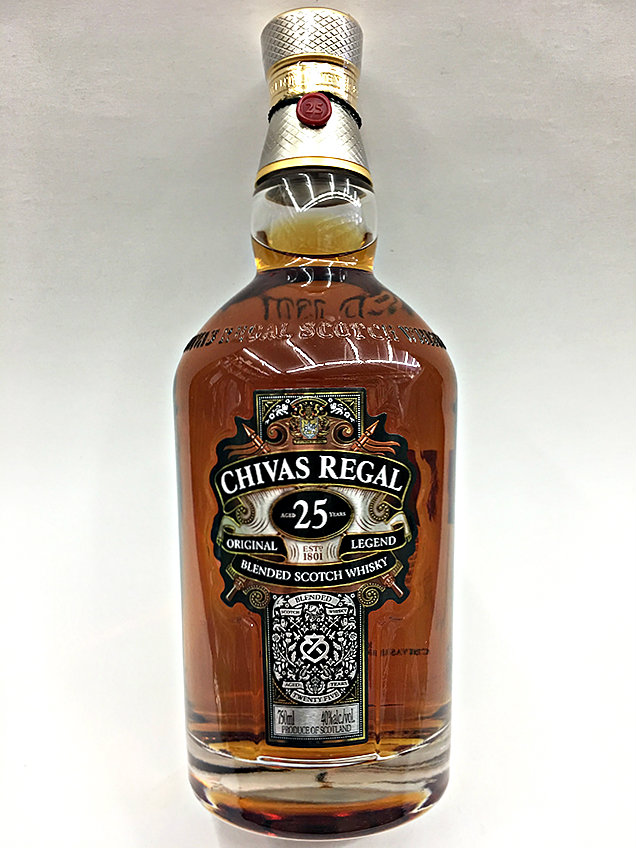 369080b7cd7 Chivas Regal 25 Year Old Blended Scotch Whisky | Quality Liquor Store