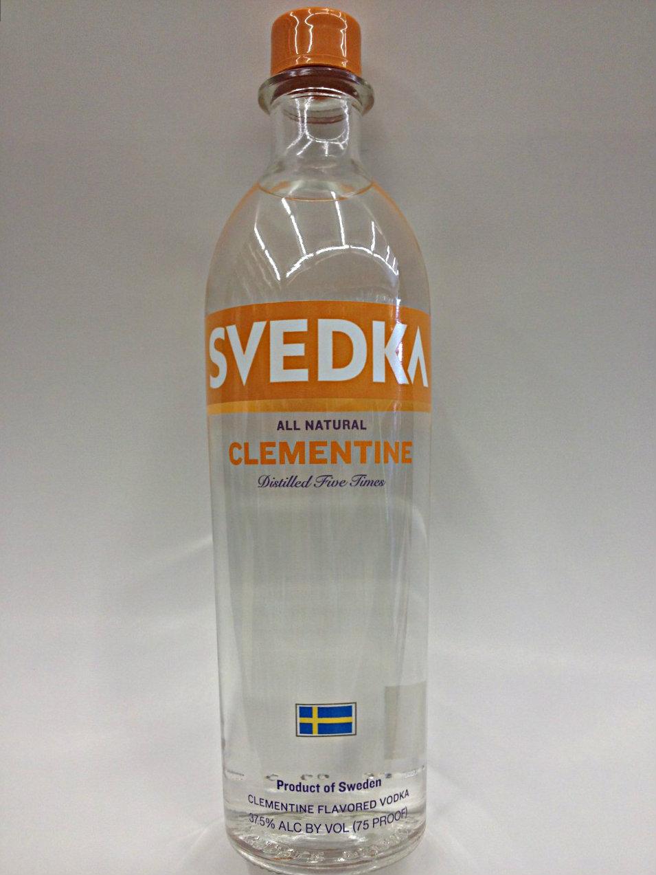 Svedka Clementine Vodka Quality Liquor Store