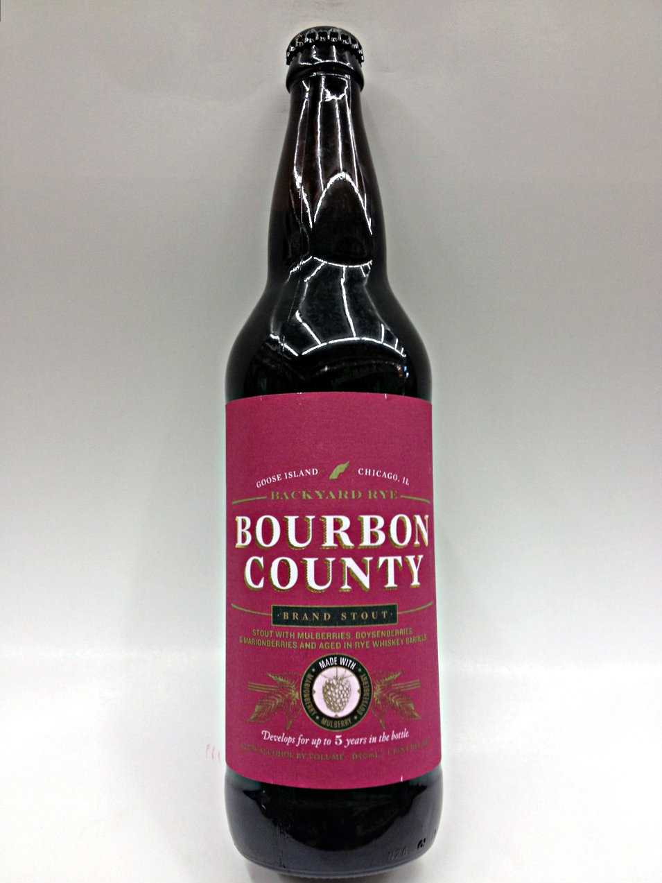 Bourbon County Backyard Rye goose island bourbon county stout backyard rye | quality liquor store