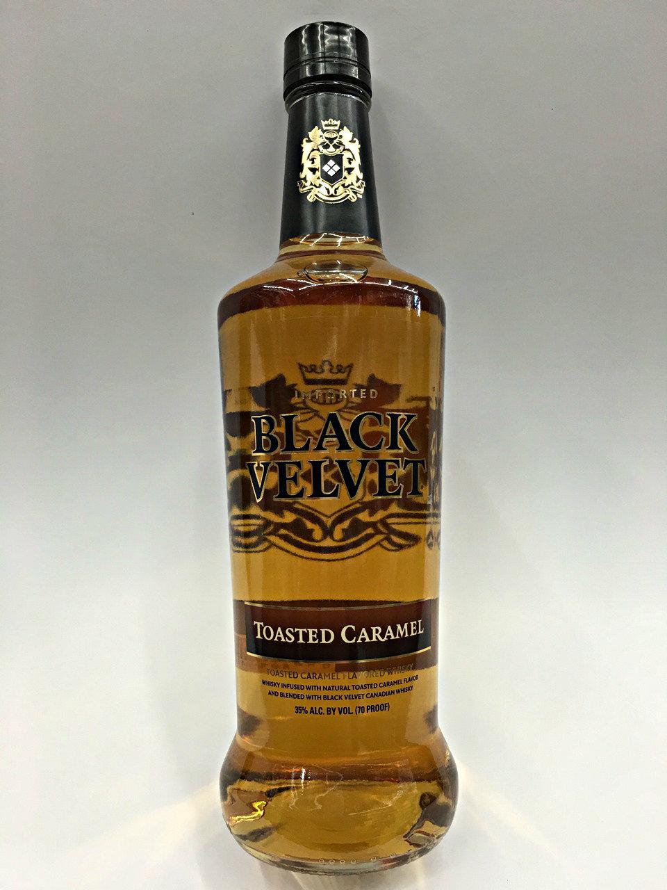 Black Velvet Toasted Caramel Canadian Whisky | Quality Liquor Store
