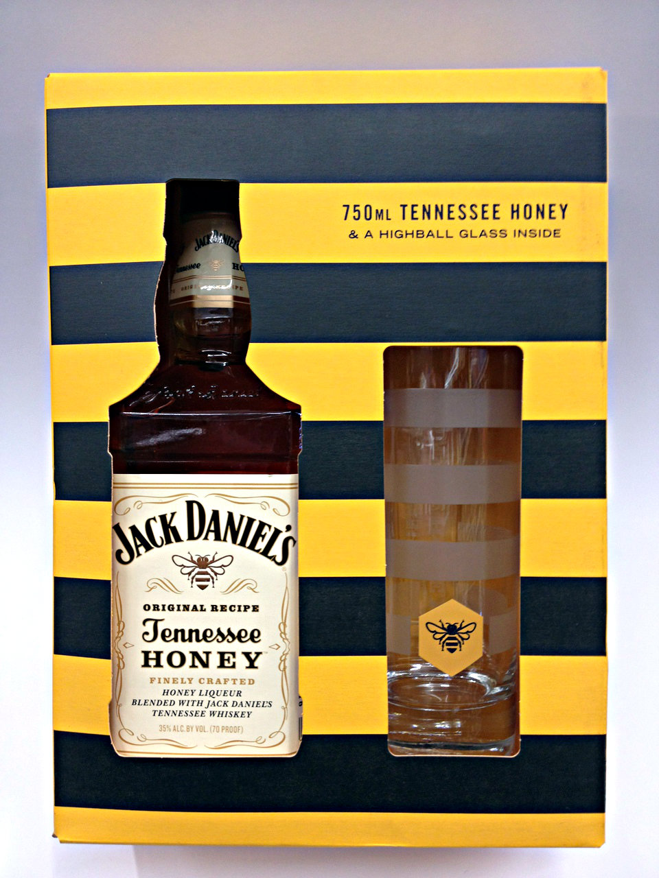 Jack Daniel Honey Whiskey Gift Set