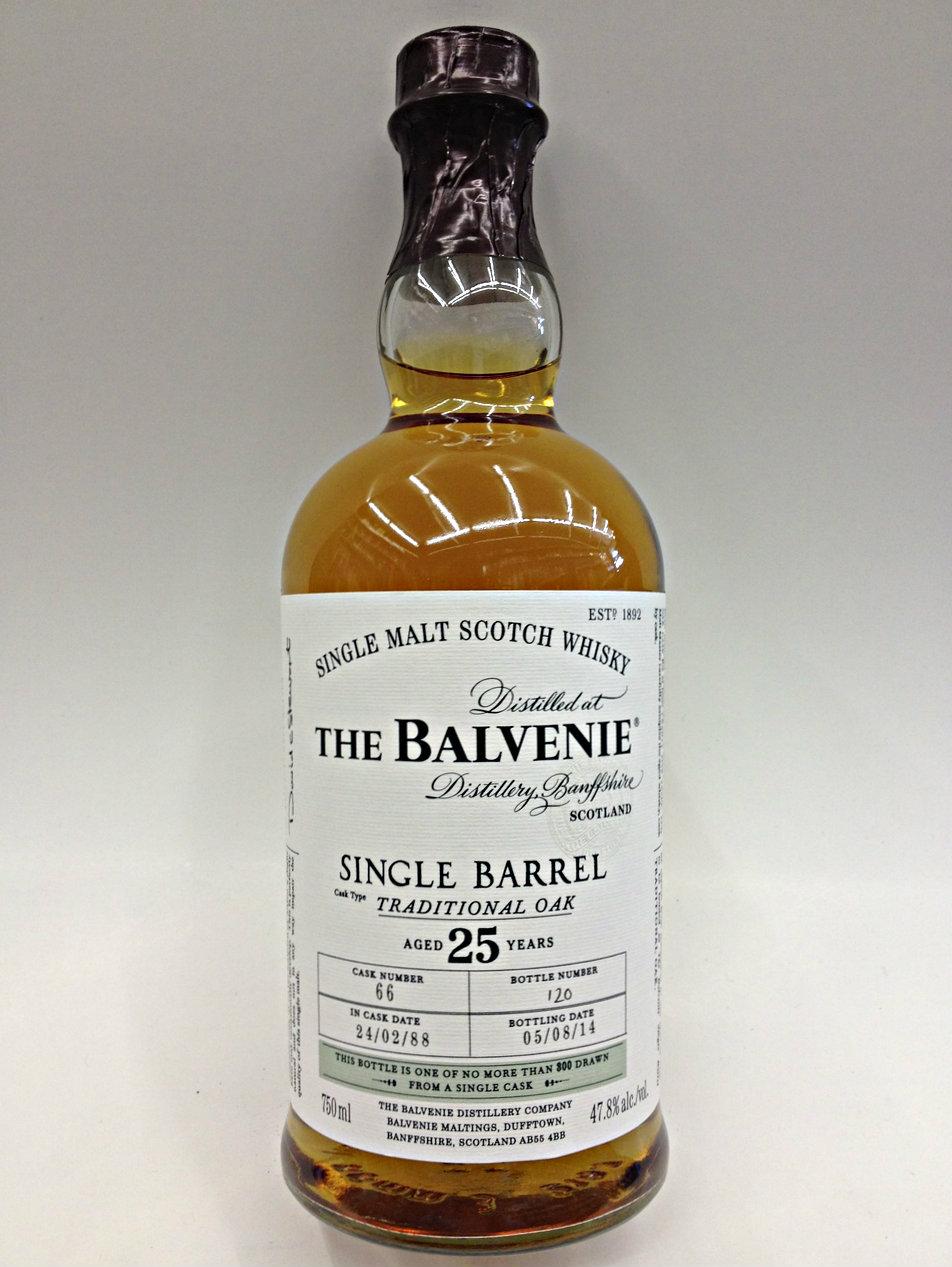 Die Tasting Note zu dem Balvenie 25 Jahre Triple Cask Single Malt: