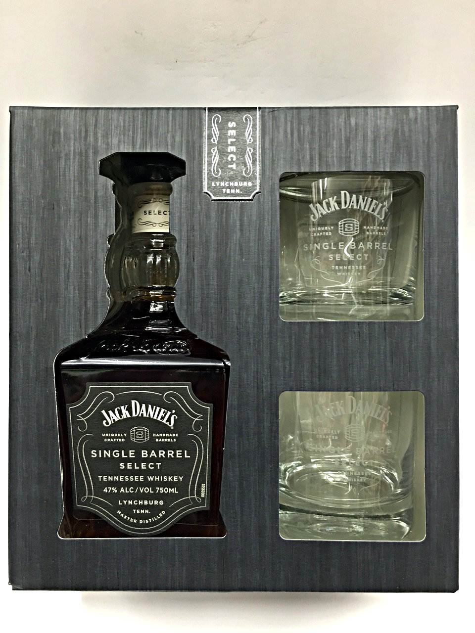 Jack Daniels Single Barrel Gift Set