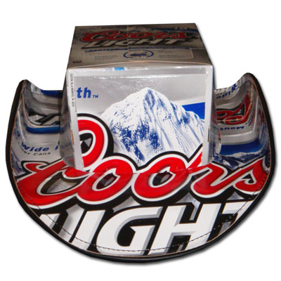 Coors Light Beer Hats Cowboy Black Trim - Quality Liquor Store ac6d8a5107c