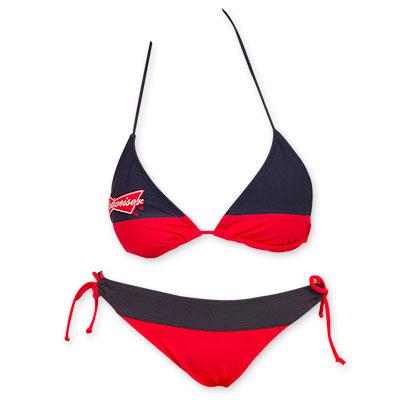 3f23592207 Budweiser Women's Red And Blue Bikini - Quality Liquor Store