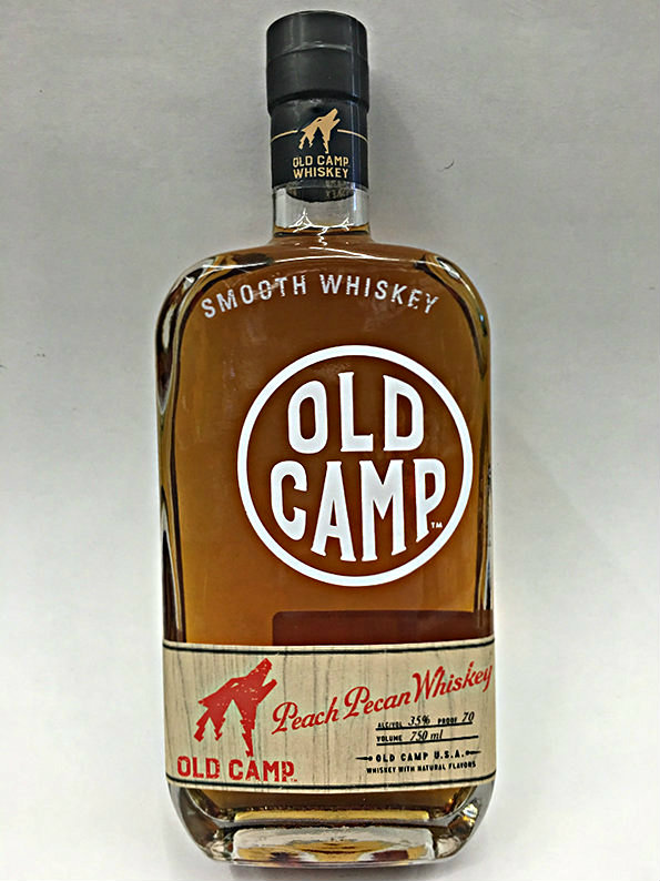 old camp peach pecan whiskey quality liquor store