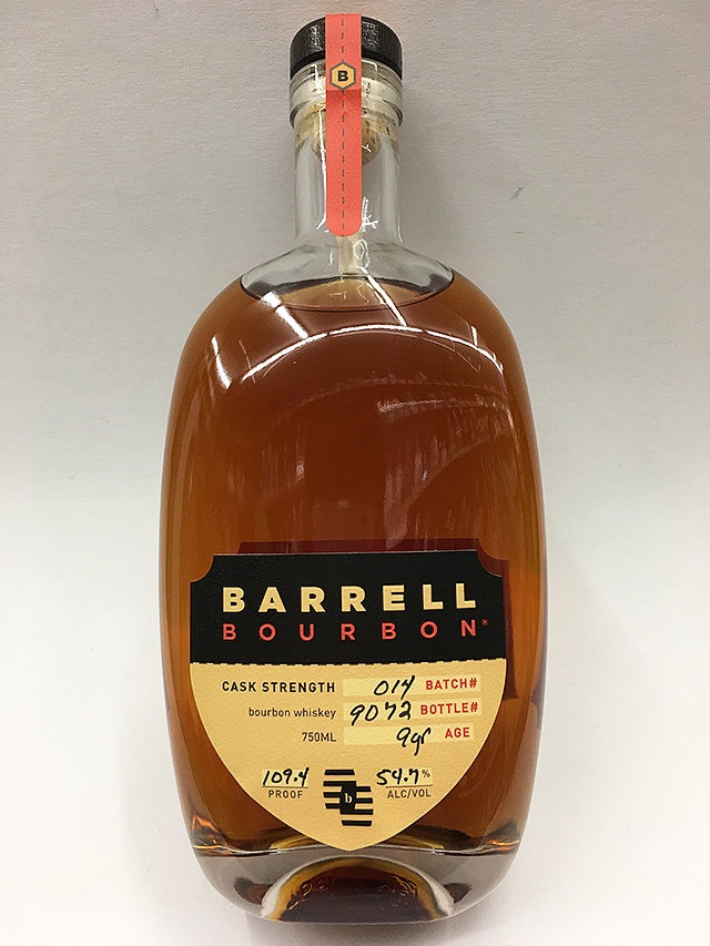 barrell bourbon cask strength batch 014 quality liquor store