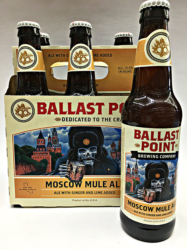 529527794 Ballast Point Moscow Mule Ale With Ginger and Lime