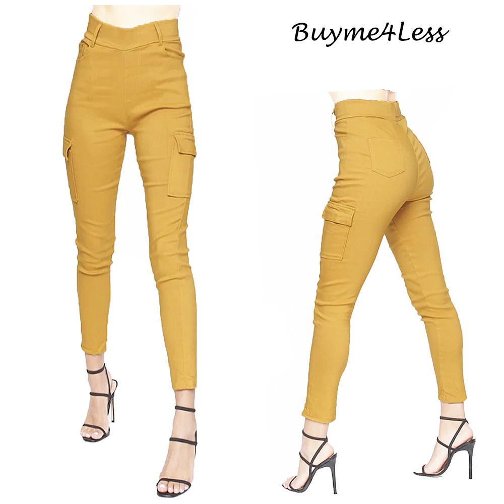 City Girls Jean Straight Leg Pockets Jeggings Pants 1693
