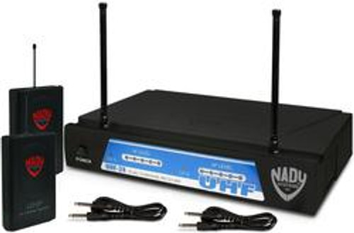 UHF-24 GT - Dual UHF Guitar Wireless System  (Refurbished) - Free Shipping  - FREE SHIPPING