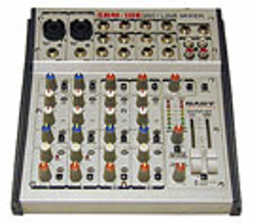 SRM-10X 10-Channel Stereo Mic / Line Mixer  - FREE SHIPPING -