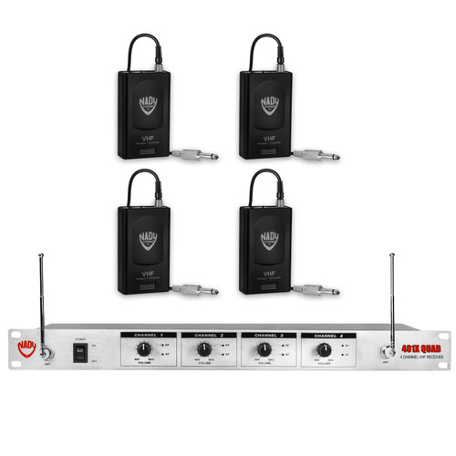 401X Quad GT  4-Channel Wireless System (Refurbished)