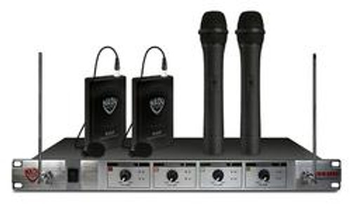 401X QUAD LT/HT COMBO 4-Channel Wireless Microphone System (Refurbished)