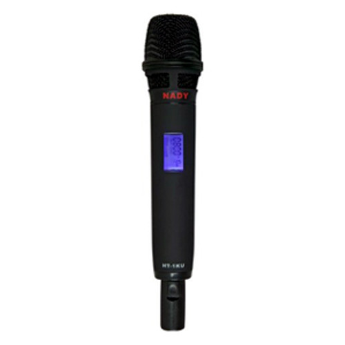 HT-1KU Handheld Microphone Transmitter -Band 3 - For W-1KU, 2W-1KU, 4W-1KU, and 8W-1KU Wireless Systems