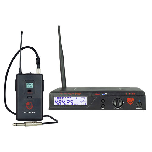 Nady U-1100 GT 100-Channel UHF Wireless Instrument/Guitar System