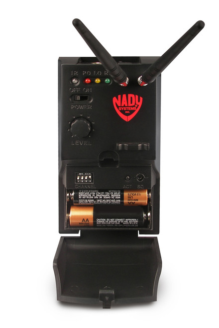 Nady MicroMGT-16X Wireless Guitar System with angled top mount plug(for strat style guitars)